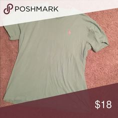 MENS green polo Green polo tshirt, great condition Polo by Ralph Lauren Shirts Tees - Short Sleeve