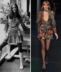 Then and Now: These Sexy '70s Trends Are Making a Comeback - The Flirty Dress  - from InStyle.com