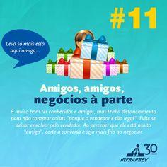 Tome cuidado com o amigo vendedor...Confira os nossos serviços: http://www.iinterativa.com.br/