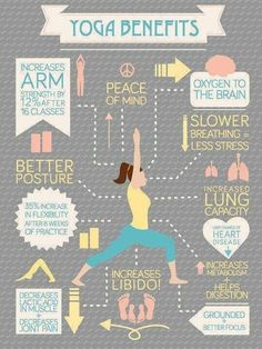 As if we needed more reasons to love yoga! Know any yogis? Tag them!