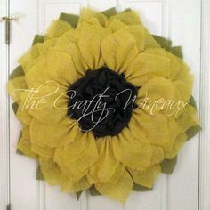 Rebecca is getting hers and it's the prefect gift for #Christmas! Get your extra large #Sunflower #Wreath today!