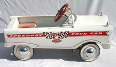 """Speedway Pace Car"" pedal car"
