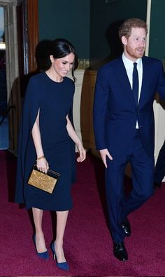 Prince Harry and Meghan Markle arrive at the Royal Albert Hall for the Queen's birthday concert - April 21, 2018