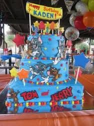Image result for HOW TO MAKE GIFT BAGS FOR A TOM AND JERRY THEMED PARTY