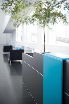 reception desks by Sedus Stoll | Entrance / Reception
