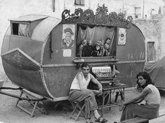 Gypsies in Italia in 1950s