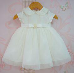 Vestido de Batizado Baby Petit Cherie