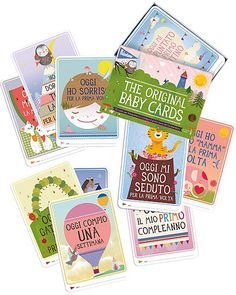 Cartoline Prime Tappe - Milestone Cards