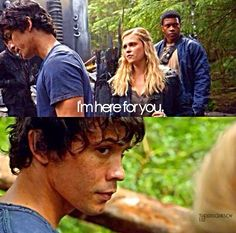 The 100 - Bellamy and Clarke. *SIGH* I seriously love these two. |CW||The 100|| #Bellarke||TV Shows|<3<3<3