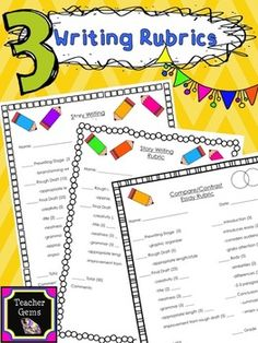 compare and contrast essay rubric for 6th grade