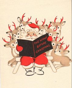 vintage christmas Explore profkarens photos on Fli - Retro Christmas Decorations, Vintage Christmas Images, Vintage Holiday, Christmas Pictures, Noel Christmas, Christmas Greetings, Winter Christmas, Christmas Crafts, Christmas Books