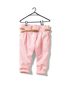 trousers with plaited belt - Collection - Baby girl (3-36 months) - Kids - ZARA Slovakia
