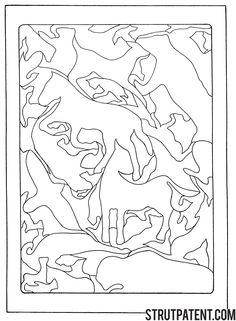 scroll saw puzzle patterns Intarsia Woodworking, Woodworking Patterns, Doodle Coloring, Coloring Pages, Stencil Art, Stencils, Dremel, Intarsia Patterns, Animal Puzzle