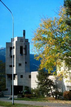 AD Classics: Holy Cross Church in Chur, Switzerland / Walter Förderer | ArchDaily