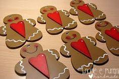 Risultati immagini per cesti natalizi fai da te Gingerbread Ornaments, Gingerbread Cookies, Christmas Crafts, Xmas, Christmas Ornaments, Wood Crafts, Diy Crafts, Happy Paintings, Tole Painting