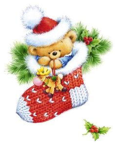 Diamond Embroidery Christmas Sock&Bear Cross Stitch Full Square Crystal Diamond Mosaic Paintings Home Decorative Crafts Gifts Christmas Scenes, Noel Christmas, Christmas Clipart, Christmas Printables, Christmas Pictures, All Things Christmas, Vintage Christmas, Christmas Stockings, Christmas Crafts