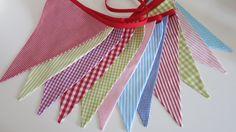 Wimpelkette Farbenfroh♥ von Hokuspokuss auf DaWanda.com