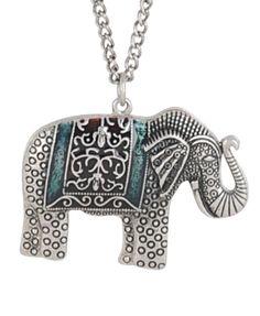 *Sigh*...elephant jewelry ;)