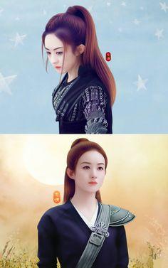 Princess Agents 2017 Princess Agents, Zhao Li Ying, Attractive Girls, Fantasy Warrior, Celebs, Celebrities, Cute Dolls, Cute Cartoon, Asian Beauty