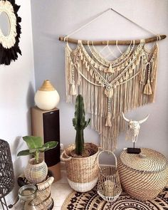 In some cases you needn't bother with a million poufs to jump on the boho train. Take motivation from this plan, which joins some bohemian components (conventional materials, vegetation, Boho Gypsy, Hippie Boho, Bohemian Room, Bohemian House, Bohemian Decor, Bohemian Crafts, Bohemian Interior, Modern Bohemian, Boho Home