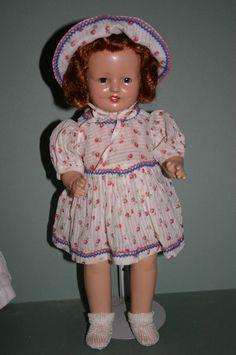 1928 Horsman Rosebud composition doll