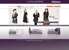 #Axance - Place des tendances #website #redesign - #Homepage