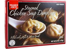 Trader Joe's soup dumplings = 250 cals for 6! #goodnutrition #physicalactivity #goodfood #vegetables #JuicePlus #healthymeal #healthyfood #healthy #health #exercise #eatclean
