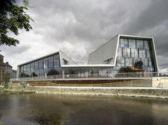 The Source arts centre. Ireland. Mccullough mulvin architects