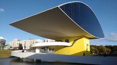 Museu Oscar Niemeyer Curitiba Paraná Brasil