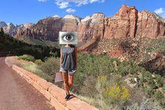 Zion National Park // Visybilidad [Ojo // Eye]