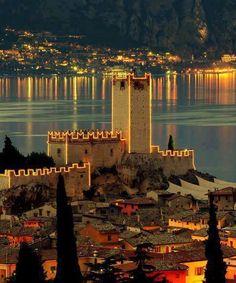 Amazing lake Garda in N Italy