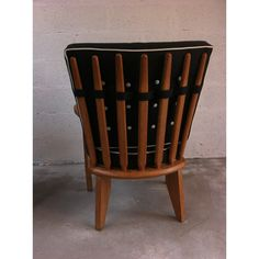 """<p><span style=""""font-family: Arial; font-size: 12px; font-style: normal; font-weight: normal;"""">Pair of armchairs in oak designed by </span><span style=""""font-family: Arial; font-size: 12px; font-style: normal; font-weight: normal;"""">Guillerme & Chambron</span><span style=""""font-family: Arial; font-size: 12px; font-style: normal; font-weight: normal;"""">for</span><span style=&quo..."""
