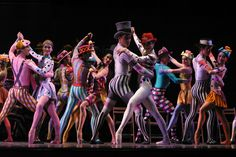 Rex Harrington and Xiao Nan Yu with Artists of the Ballet in Elite Syncopations, 2003  - to show the bright costumes...