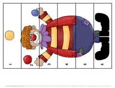 clowning around puzzles for kıds (4)