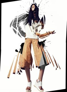 for DASH Magazine by Jenya Vyguzov, via Behance                                                                                                                                                                                 More