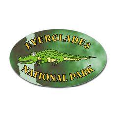 Everglades Alligator Decal on CafePress.com