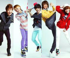 SHINee minho, jonghyun, taemin, key, onew