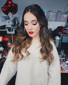 Angela Torres, Girly, Make Up, Long Hair Styles, Photo Ideas, Photography, Outfits, Inspiration, Beauty