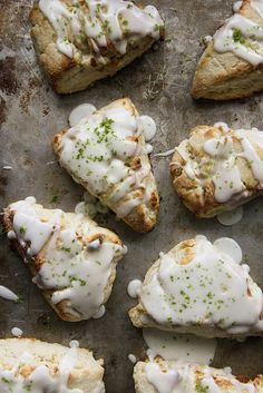 Coconut Lime Scones by Heather Christo. Perfect for Easter Brunch! Brunch Recipes, Sweet Recipes, Breakfast Recipes, Dessert Recipes, Allergy Free Recipes, Baking Recipes, Scone Recipes, Breakfast Scones, Think Food