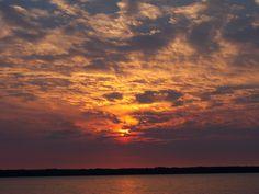 Sunset over Lake Pymantuning, 2010