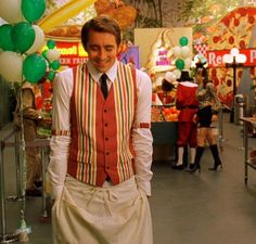 Ned the Piemaker, hands in his pockets all cute and awkward like.