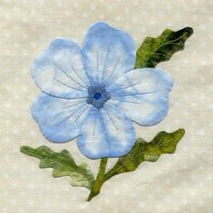 Baby Blue Eyes (for Wildflower Quilt)