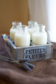 Cute candle inspiration...