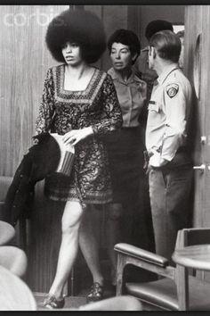 The trial of Angela Davis, a black American Communist revolutionary, lasted 13 weeks and ended on June She was found not guilty of all three charges by an all-white jury: kidnapping, conspiracy and murder. Angela Davis, Black Power, Black Panther Party, Black History Facts, Black History Month, Kings & Queens, Vintage Black Glamour, By Any Means Necessary, Black Pride