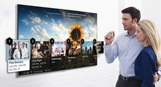 Samsung's 2014 smart TVs will let you control videos by pointing your finger