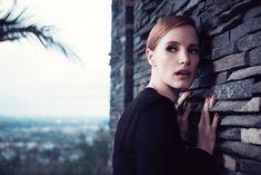 Jessica Chastain Stars in New Shots for YSL Manifesto