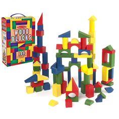 Melissa & Doug - Wooden Block Set 100pce
