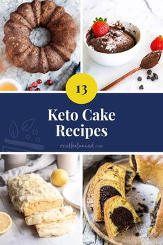 These Keto Cake Recipes prove that you can still enjoy sweet treats without supercharging it with carbs and sugar. But that's not all! Some of these low carb cakes have some of the most ingenious ways of incorporating veggies. So, go on! Whip up some at home and see for yourself. #realbalancedblog #ketocakerecipes #lowcarbcakerecipes #ketocakes