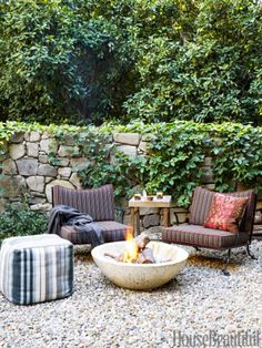 Superior Modern California Gravel Patio Outdoor Design On Thou Swell @thouswellblog  Outdoor Rooms, Outdoor Decor