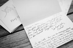 """great wedding gift idea!   """"At our rehearsal dinner, unbeknownst to us, my dear friend and bridesmaid handed out blank cards to most everyone present. She instructed to simply write us a note of encouragement or a piece of marital advice to be opened years down the road."""""""